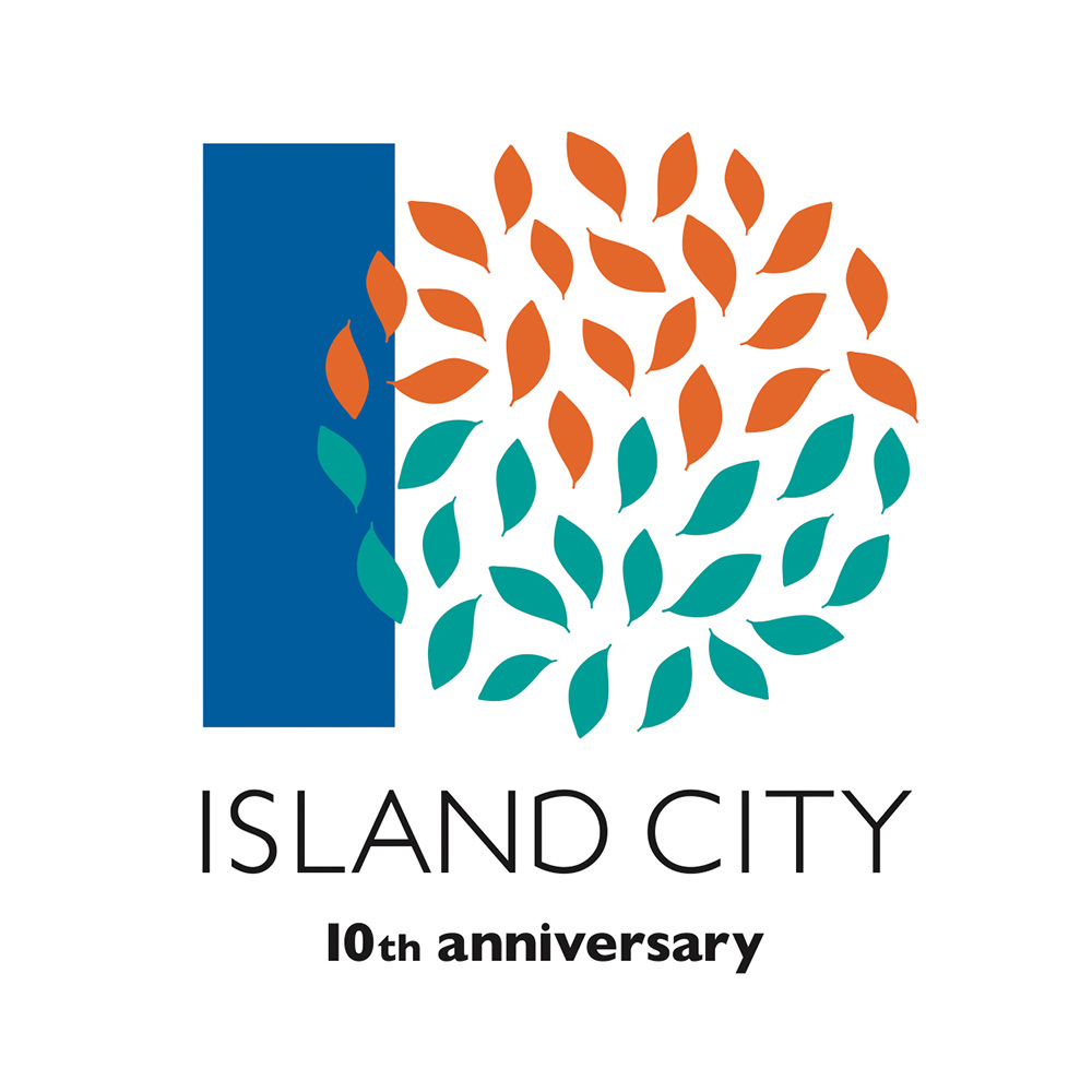 ISLAND CITY 10TH ANNIVERSARYGRAPHIC