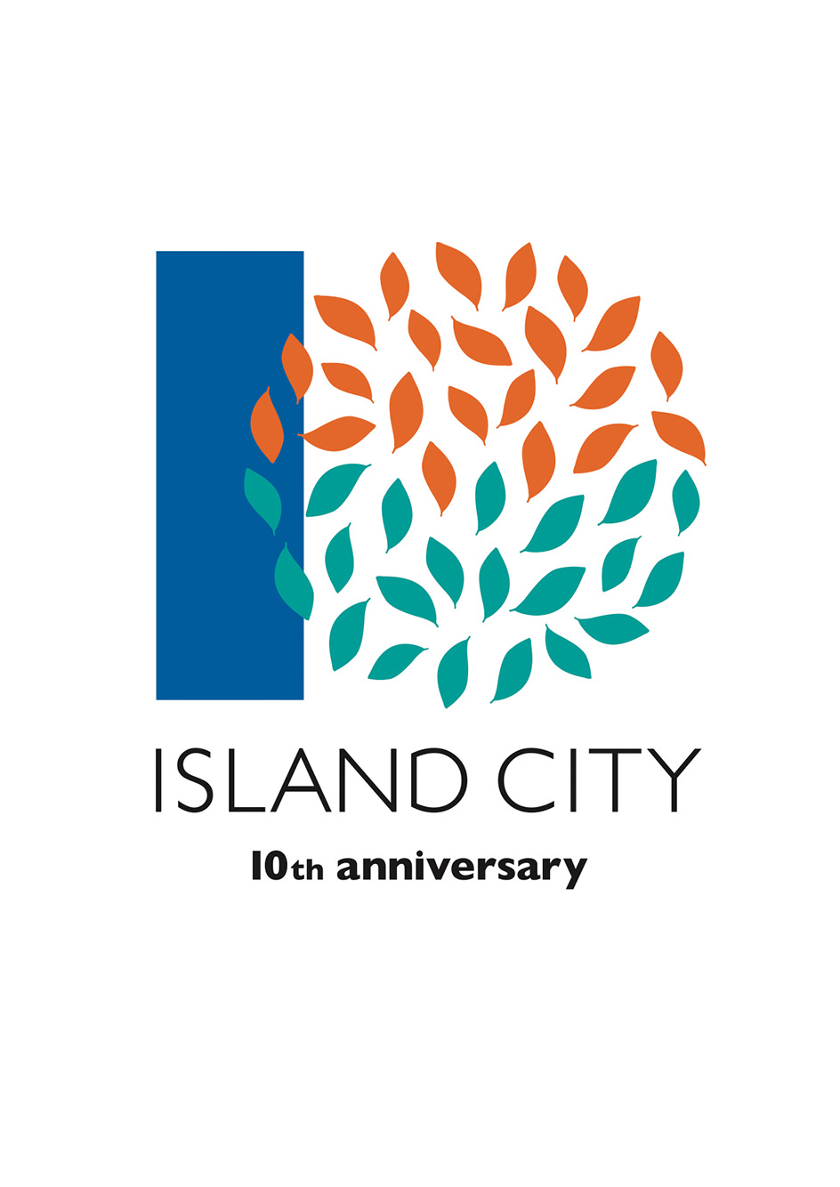 ISLAND CITY 10TH ANNIVERSARYGRAPHIC